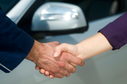 Closing a deal on a new car thru prepared negotiations
