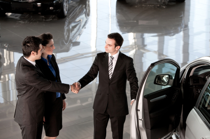 Negotiating a deal on a new car